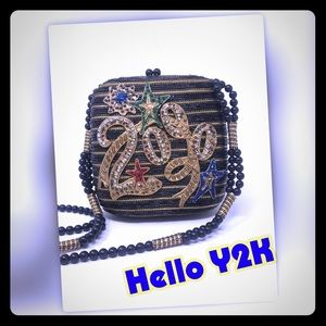 Handbags - 2000 New Year Exquisitely Beaded Purse